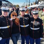 Singer And Song Writer Doreen Taylor With Color Guard