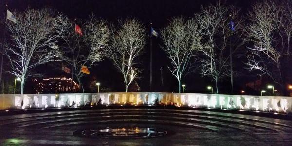 Vietnam Memorial In Philadelphia