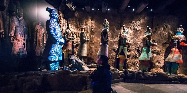 Terracotta Warriors Exhibit At The Franklin Institute