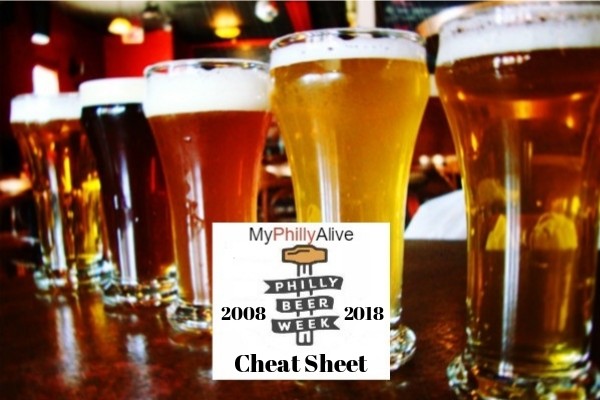 Great Cheat Sheet For Philly Beer Week